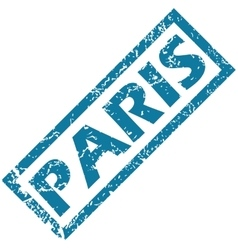 Paris rubber stamp vector