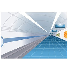 Metro station vector