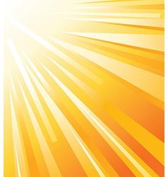 Sun shinning vector