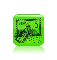 Mexico icon vector