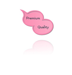 Speak bubble with premium quality vector