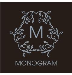 Luxury simple and elegant monochrome vector