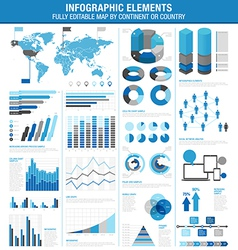 Infographics cold ok vector