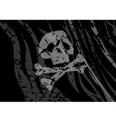 Flag pirates vector