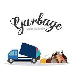 Garbage design vector