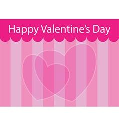 Valentine scene vector