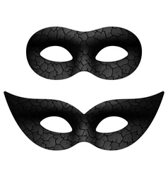 Masquerade eye mask vector