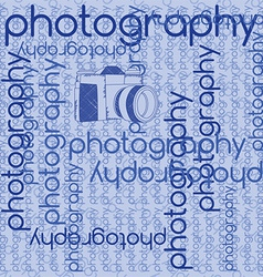 Photography background vector