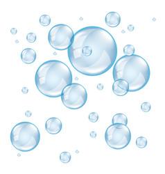 Bubble soap light vector