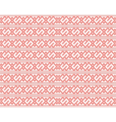 Seamless knitted pattern for christmas vector