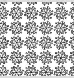 Flower cornflower pattern vector