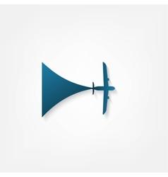 Airplanes icon vector