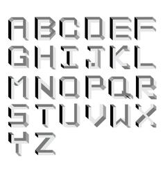 Impossible alphabet type vector