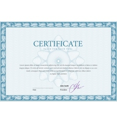Template certificate and diplomas vector