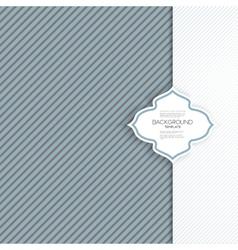 Seamless striped grunge pattern vintage design vector