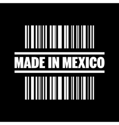 Made in mexico icon vector