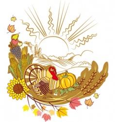 Thanksgiving poster vector