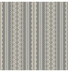 Vintage damask seamless pattern vector