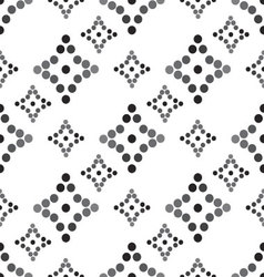 Seamless diamond patterned diagonally vector