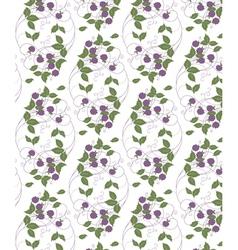 Wood berries vector
