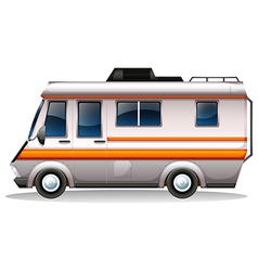 A big bus for transportation vector