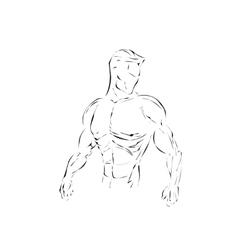 Athlet vector