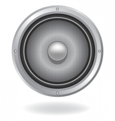 Audio speaker icon vector