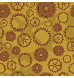 Cogwheel pattern vector