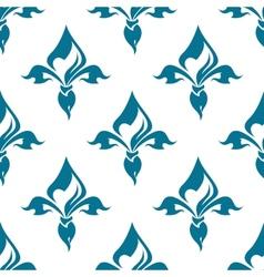 Classical french fleur-de-lis seamless pattern vector