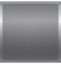 Metal grid vector