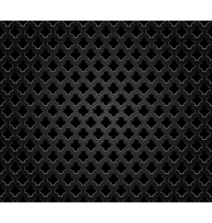 Abstract perforated metal vector