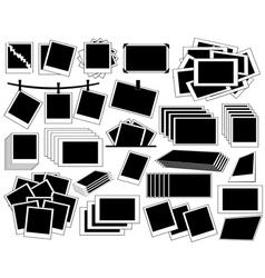 Photo frame collection vector