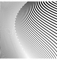 Design monochrome lines movement background vector