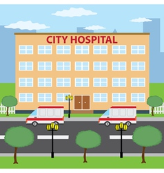Hospital vector