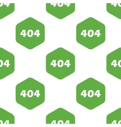 Error 404 pattern vector