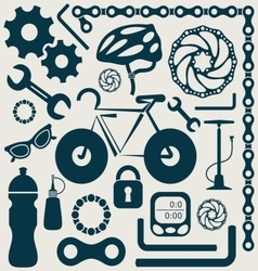 Bike tools vector