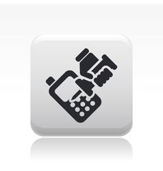 Phone repair icon vector