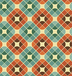 Abstract colorful tiles seamless pattern vector