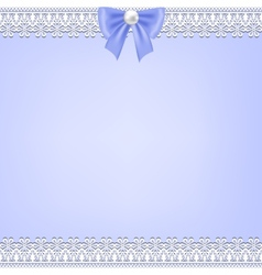 Lace fabric background vector
