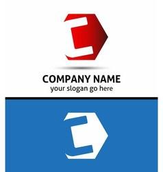 Elegant design alphabet symbol letter c log vector
