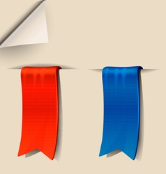 Bookmark vector