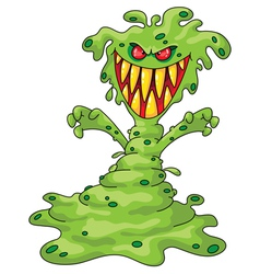 Scary monster vector