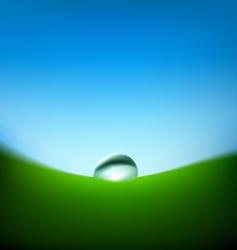 Raindrop illustration vector