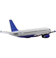 Airplane model vector