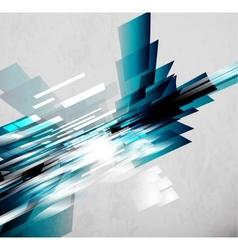 Flowing lines abstract background vector