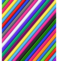Colored pencils background vector