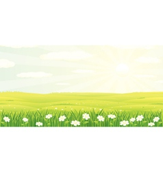 Beauty landscape vector