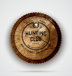 Hunting club badges logos and labels for any use vector