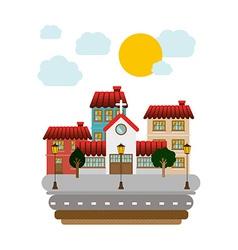 Town design vector
