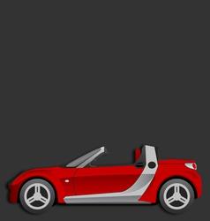 Smart roadster vector